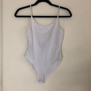White Body Suit Size Med from Forever 21